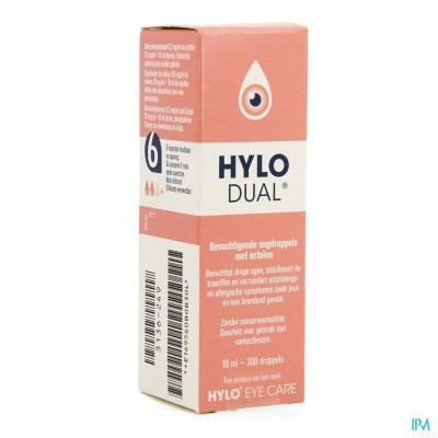 Hylo-dual Oogdruppels 10ml