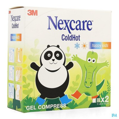 Nexcare 3m Coldhot Happy Kids Kp Gel 2 N1573kid