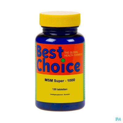 Best Choice Msm Super 1000 Tabl 120