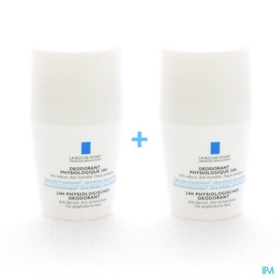 Lrp Deo Physio Roll On Duo 2x50ml