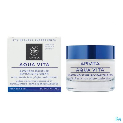 Apivita Aqua Vita Creme Intensief Hydra Nh-dh 50ml