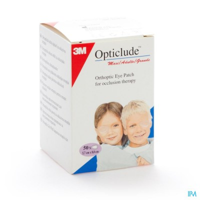 Opticlude 3m Oogkompres Stand 82mmx57mm 50 1539