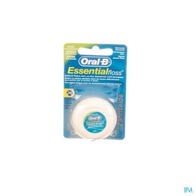 Oral B Floss Esssential Floss Mint Waxed 50m