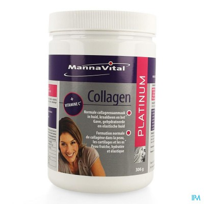 Mannavital Collagen Platinum 306g