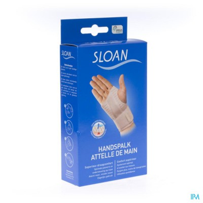 Sloan Handspalk Wit Links M