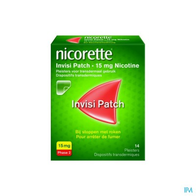 Nicorette Invisi 15mg Patch 14