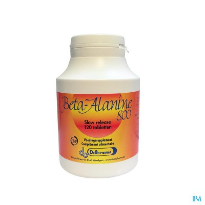 Beta-alanine 800mg Slow Release Comp 120 Deba