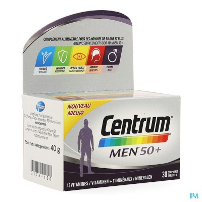 Centrum Men 50+ Advanced Comp 30