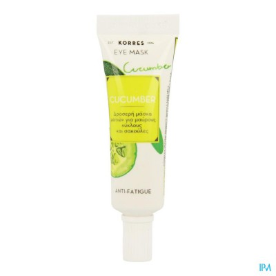 Korres Kf Cucumber Anti-fatigue Eye Mask 8ml