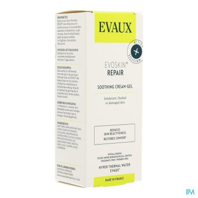 Evoskin Repair Gel Creme Verzacht. Tube 50ml