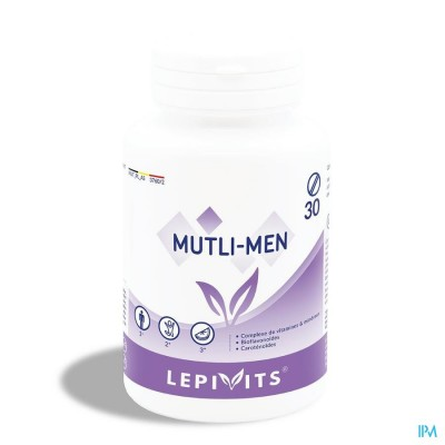 Lepivits Multi Men Activ Pot Comp 30