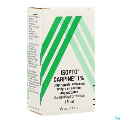 Pilocarpine-isopto 1 % Collyre 15ml