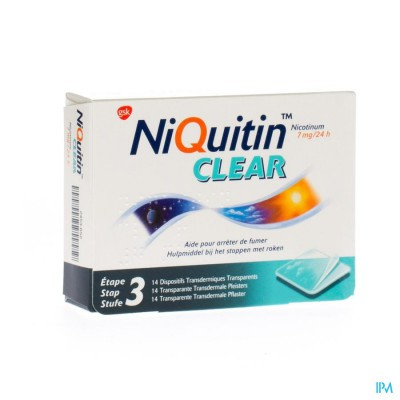 Niquitin Clear Patches 14 X 7mg