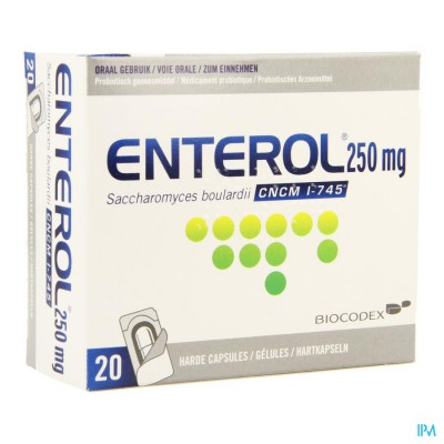 Enterol 250mg Impexeco Caps Harde Dur 10x250mg Pip