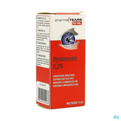 Pharmatears 0,2% Hyaluron 15ml