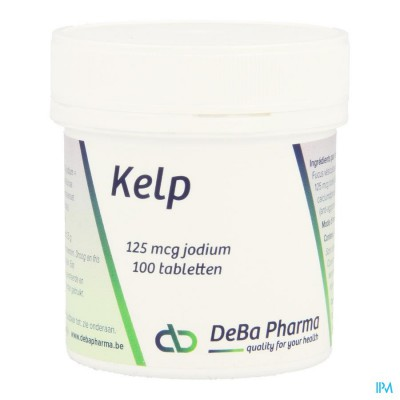 Kelp 125y Jodium Comp 100