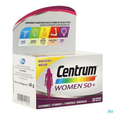 Centrum Women 50+ Advanced Comp 30