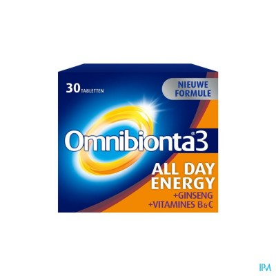 Omnibionta-3 All Day Energy Nf Comp 30