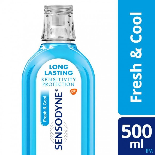 Sensodyne Fresh & Cool Mondwater 500ml